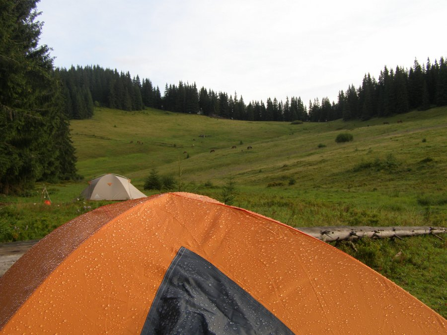 Перевал Пантырь. Утро