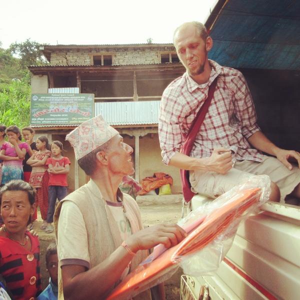 Землетрясение в Непале. Волонтерская помощь