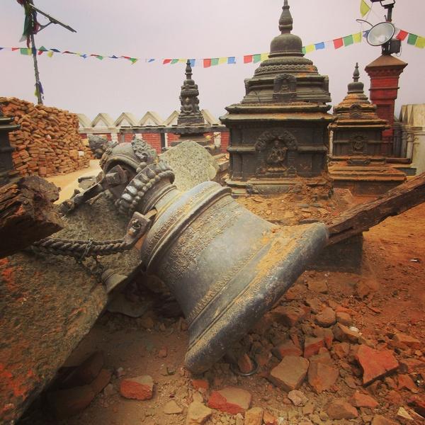 Землетясение в Непале